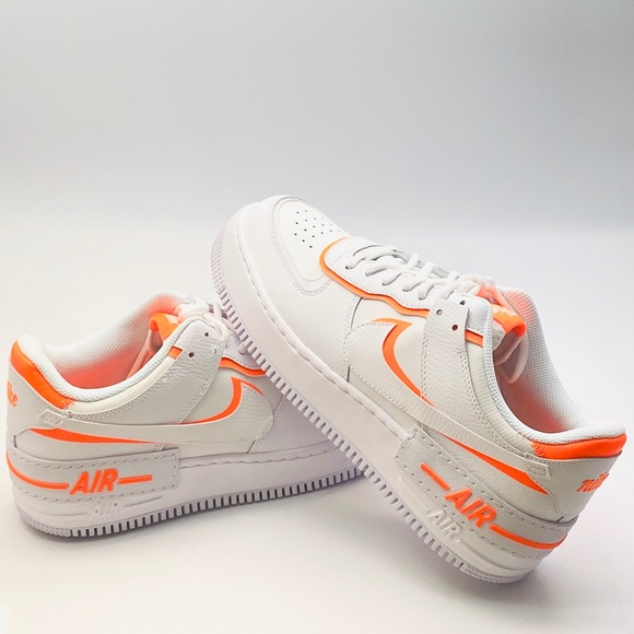 nike air force 1 orange shadow